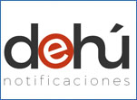 Logotipo DEHú Notificaciones