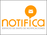 Notifies: service of sending notificicaciones