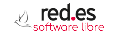 free software logo red.es registrar