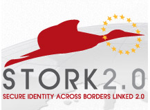 Logo proyecto Secure idenTity acrOss boRders linKed 2.0 (STORK 2.0)